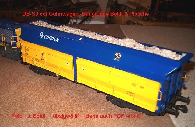 Güterwagen bei der MOB DBSJGW8