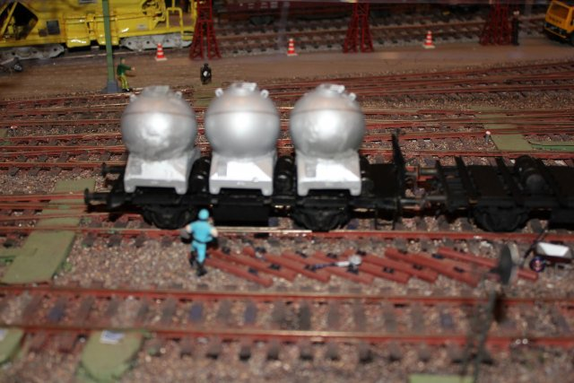 Güterwagen bei der MOB Hp2660