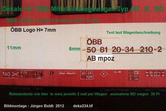 mein ÖBB - Mein ÖBB Mitteleinstiegswagenzug  DEKA234