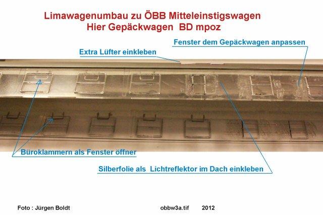 mein ÖBB - Mein ÖBB Mitteleinstiegswagenzug  OBBW3A