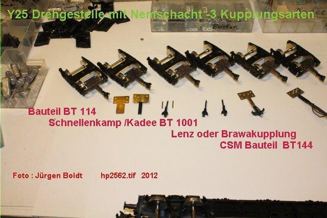 Für meine MOB Anlage - Neue Drehgestelle Hp2562