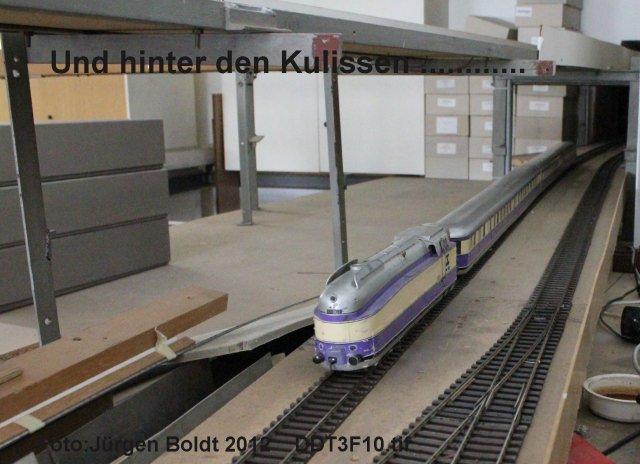 Spur 0 Anlage im Verkehrsmuseum Dresden DDT3F10