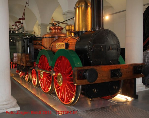 Spur 0 Anlage im Verkehrsmuseum Dresden DDT3F3